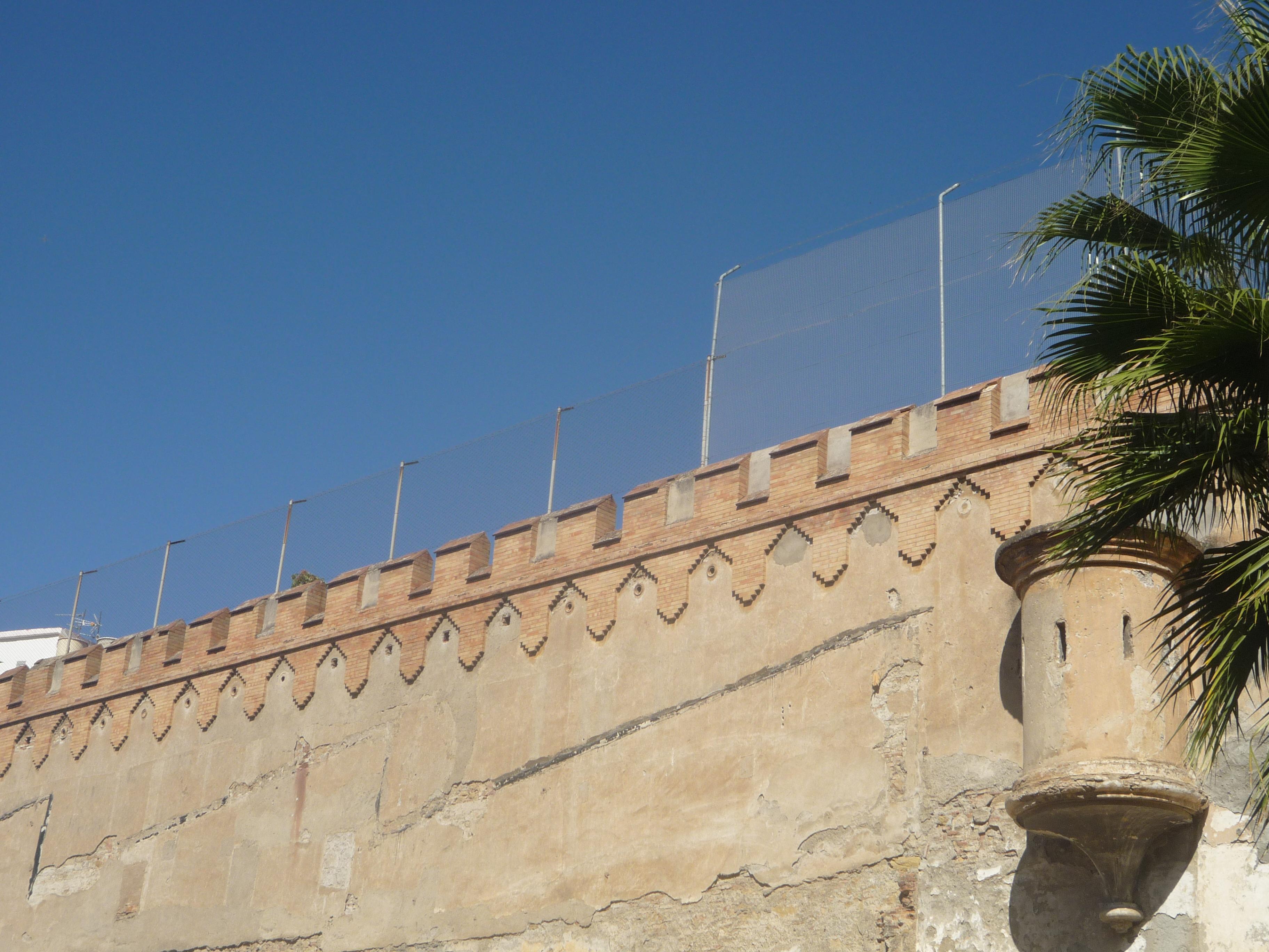 Un muro de vergüenza