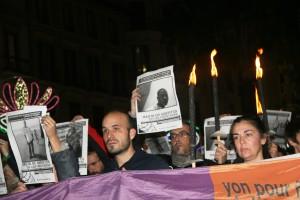 Concentración por las muertes de inmigrantes en Ceuta