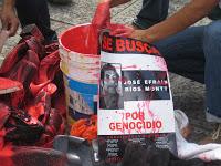 El color de la sangre no se olvida en Guatemala